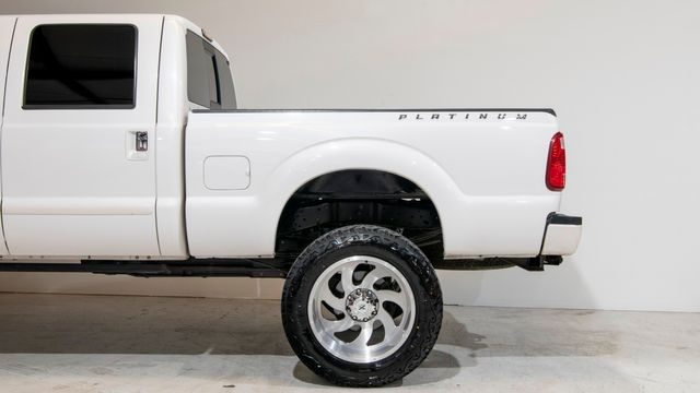 2015 Ford Super Duty F-250 Pickup Platinum Lifted with Upgrades in Dallas, TX 75229