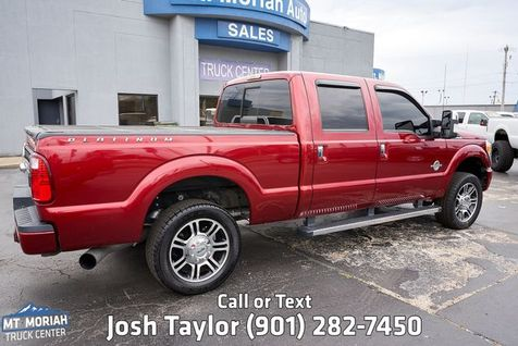 2015 Ford Super Duty F-250 Pickup Platinum | Memphis, TN | Mt Moriah Truck Center in Memphis, TN