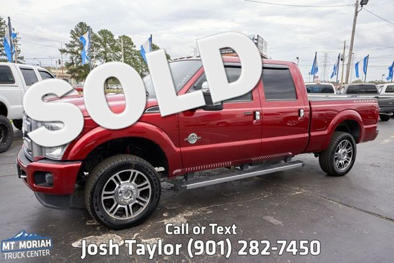 2015 Ford Super Duty F-250 Pickup Platinum | Memphis, TN | Mt Moriah Truck Center in Memphis TN