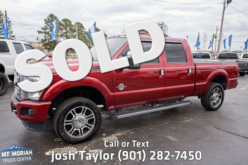 2015 Ford Super Duty F-250 Pickup Platinum | Memphis, TN | Mt Moriah Truck Center in Memphis TN
