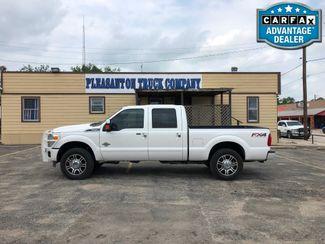 2015 Ford Super Duty F-250 Pickup Platinum   Pleasanton, TX   Pleasanton Truck Company in Pleasanton TX