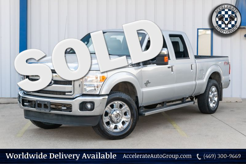 2015 Ford Super Duty F-250 Lariat in Rowlett Texas