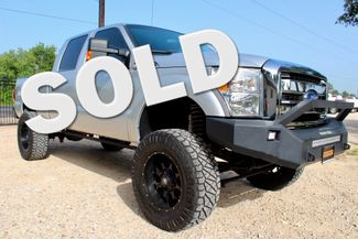 2015 Ford Super Duty F-250 XLT Crew Cab 4X4 6.7L Powerstroke Diesel Auto LIFTED Sealy, Texas