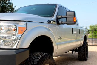 2015 Ford Super Duty F-250 XLT Crew Cab 4X4 6.7L Powerstroke Diesel Auto LIFTED Sealy, Texas 4