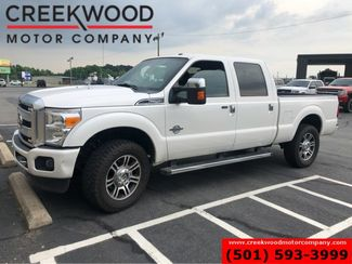 2015 Ford Super Duty F-250 Platinum 4x4 Diesel White Nav New Tires 20s 1Owner in Searcy, AR 72143