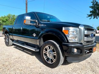 2015 Ford Super Duty F-250 Platinum Crew Cab 4X4 6.7L Powerstroke Diesel Auto in Sealy, Texas 77474