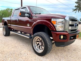 2015 Ford Super Duty F-250 Platinum Crew Cab 4X4 6.7L Powerstroke Diesel Auto LIFTED FORCES in Sealy, Texas 77474