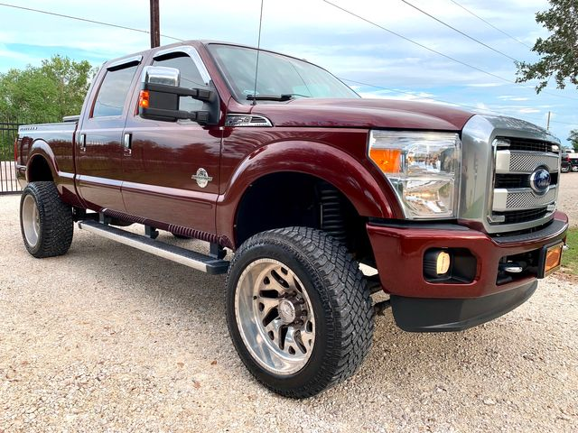 2015 Ford Super Duty F-250 Platinum Crew Cab 4X4 6.7L Powerstroke Diesel Auto LIFTED FORCES