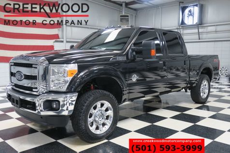 2015 Ford Super Duty F-250 Lariat FX4 4x4 Black Diesel Nav Sunroof Chrome 20s in Searcy, AR