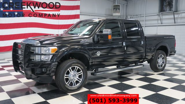 2015 Ford Super Duty F-250 Platinum 4x4 Diesel Black Nav Roof 20s 1Owner NICE in Searcy, AR 72143