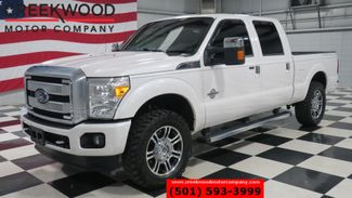 2015 Ford Super Duty F-250 Platinum 4x4 Diesel White Nav Roof Chrome 20s NICE in Searcy, AR 72143