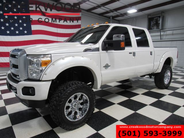 """2015 Ford Super Duty F-250 Platinum 4x4 Diesel Lifted 37"""" Tires Chrome 20s in Searcy, AR 72143"""