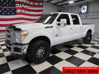 2015 Ford Super Duty F-250 XLT 4x4 Diesel White Leveled Black 18s Extras NICE in Searcy, AR 72143