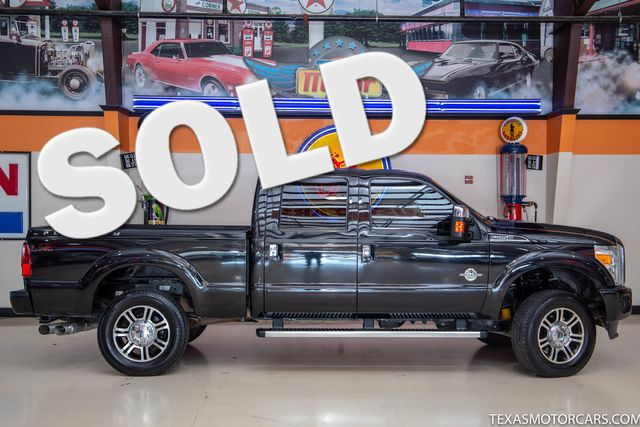 2015 Ford Super Duty F-250 SRW Pickup Platinum 4x4 in Addison, Texas 75001