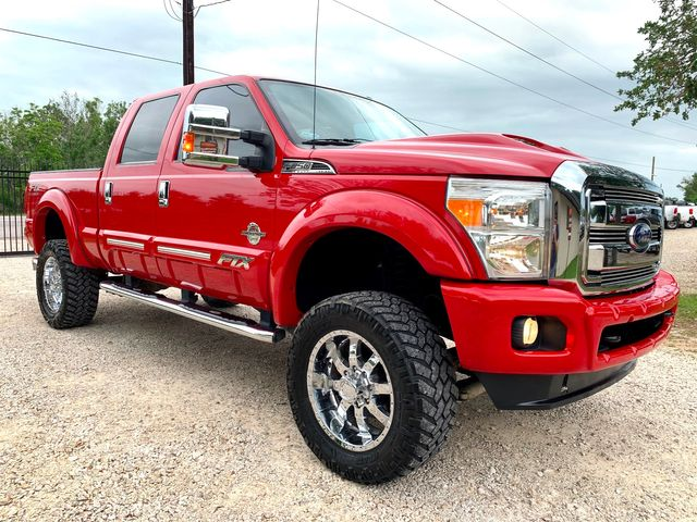 2015 Ford Super Duty F-250 Tuscany FTX Crew Cab 4X4 6.7L Powerstroke Diesel Auto LIFTED
