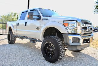 2015 Ford Super Duty F-250 XLT Crew Cab 4x4 6.7L Powerstroke Diesel Auto LIFTED in Sealy, Texas 77474