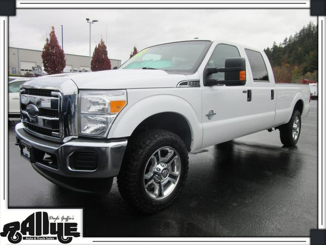 2015 Ford Super Duty F-350 CREW CAB XLT in Burlington WA, 98233