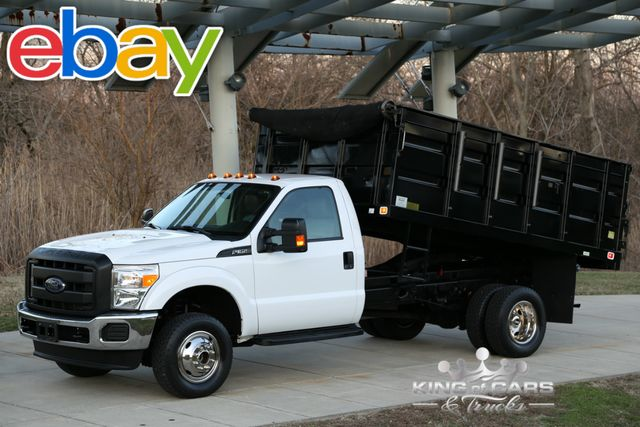2015 Ford Super Duty F-350 DRW Chassis Cab XLT 4X4 DUMP TRUCK