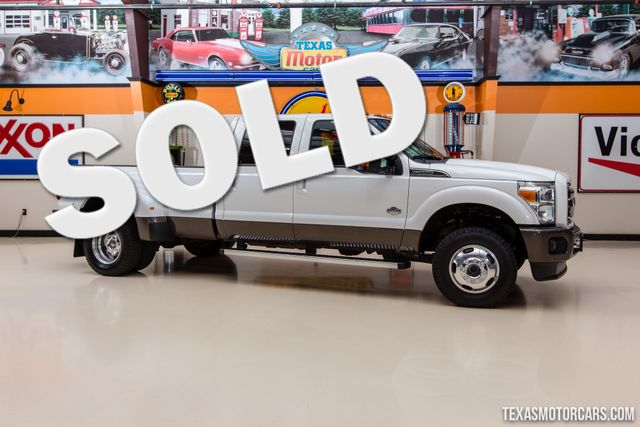 2015 Ford Super Duty F-350 DRW Pickup King Ranch 4X4