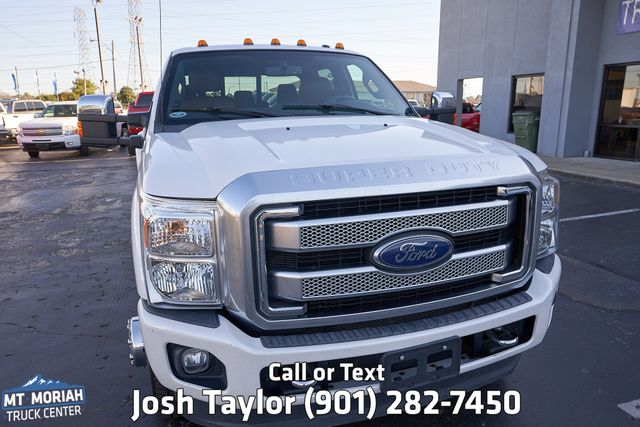 2015 Ford Super Duty F-350 DRW Pickup Platinum in Memphis, Tennessee 38115