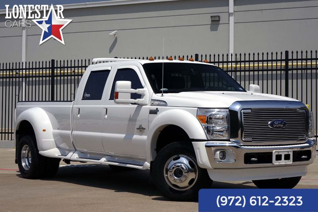 2015 Ford Super Duty F-350 DRW Pickup Lariat Clean Carfax Western Hauler Package 4x4