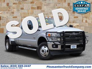 2015 Ford Super Duty F-350 DRW Pickup Lariat | Pleasanton, TX | Pleasanton Truck Company in Pleasanton TX
