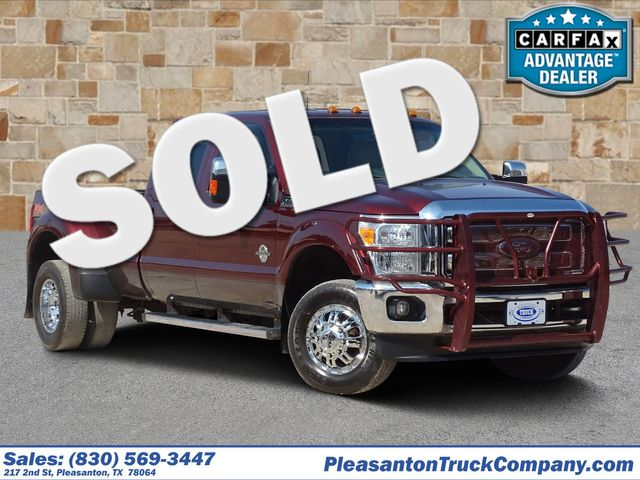 2015 Ford Super Duty F-350 DRW Pickup Lariat | Pleasanton, TX | Pleasanton Truck Company in Pleasanton TX
