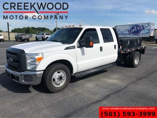 2015 Ford Super Duty F-350 XL XLT 2WD Diesel White Utility Service Flatbed in Searcy, AR 72143