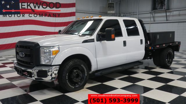 2015 Ford Super Duty F-350 XL XLT 2WD Diesel White Utility Service Flatbed