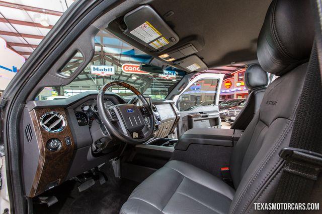 2015 Ford Super Duty F-350 SRW Platinum 4X4 in Addison Texas, 75001