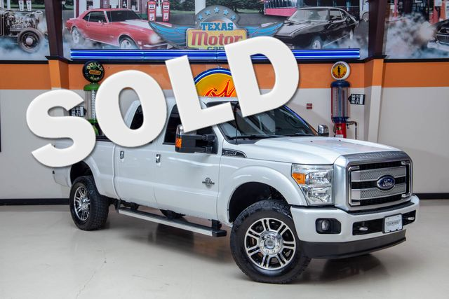 2015 Ford Super Duty F-350 SRW Platinum 4x4