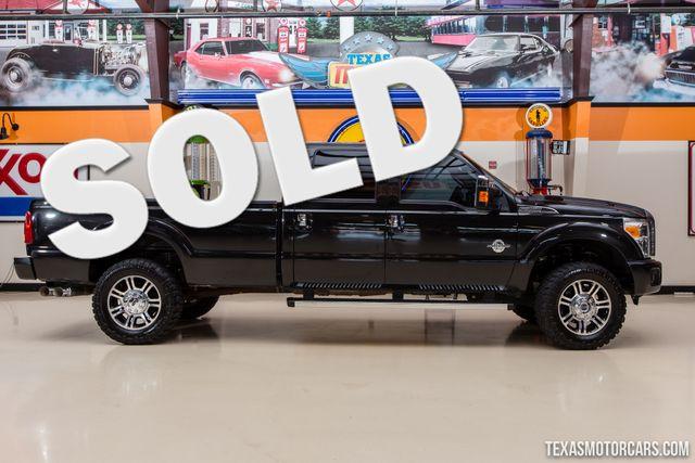 2015 Ford Super Duty F-350 SRW Pickup Platinum 4X4