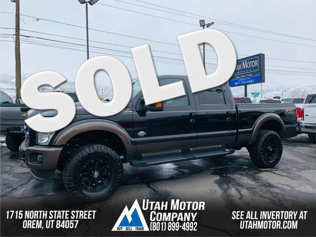 2015 Ford Super Duty F-350 SRW Pickup King Ranch | Orem, Utah | Utah Motor Company in  Utah