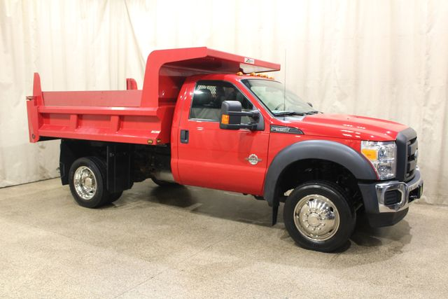 2015 Ford Super Duty F-550 Dump truck Diesel 4x4 XL
