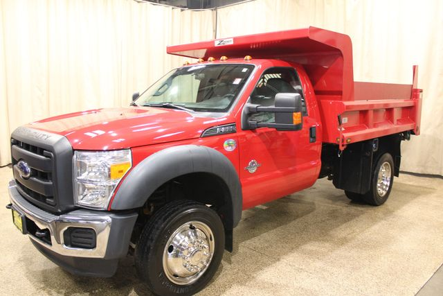 2015 Ford Super Duty F-550 Dump truck Diesel 4x4 XL in Roscoe IL, 61073