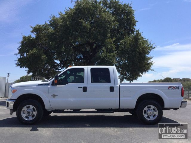 2015 Ford Super Duty F250 Crew Cab XLT FX4 6.7L Power Stroke Diesel 4X4