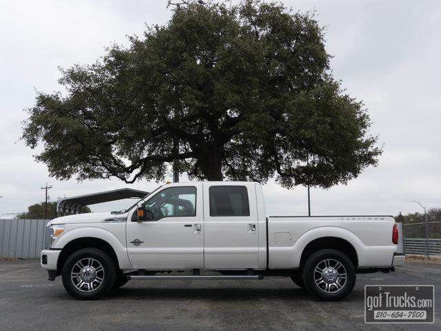 2015 Ford Super Duty F250 Crew Cab Platinum 6.7L Power Stroke Diesel 4X4