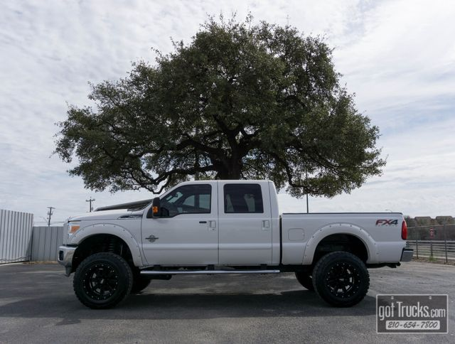 2015 Ford Super Duty F250 Crew Cab Lariat FX4 6.7L Power Stroke Diesel 4X4