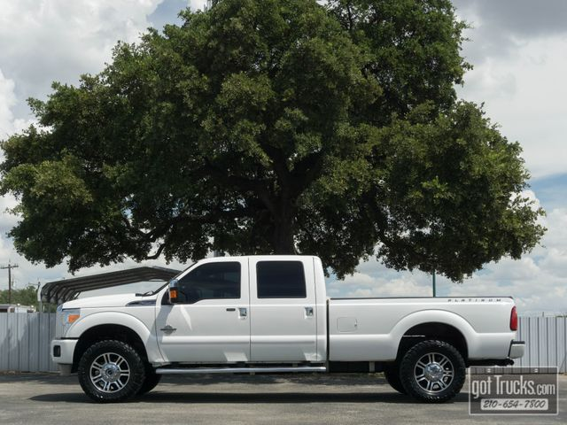 2015 Ford Super Duty F250 Crew Cab Platinum 6.7L Power Stroke Diesel 4X4