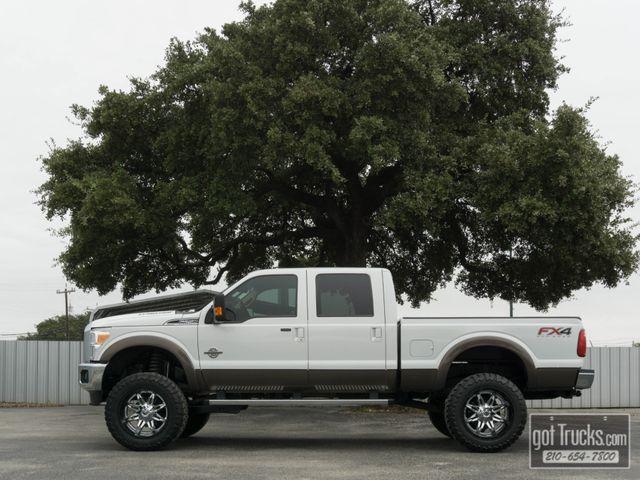 2015 Ford Super Duty F250 Crew Cab Lariat FX4 6.7L Power Stroke Diesel 4X4