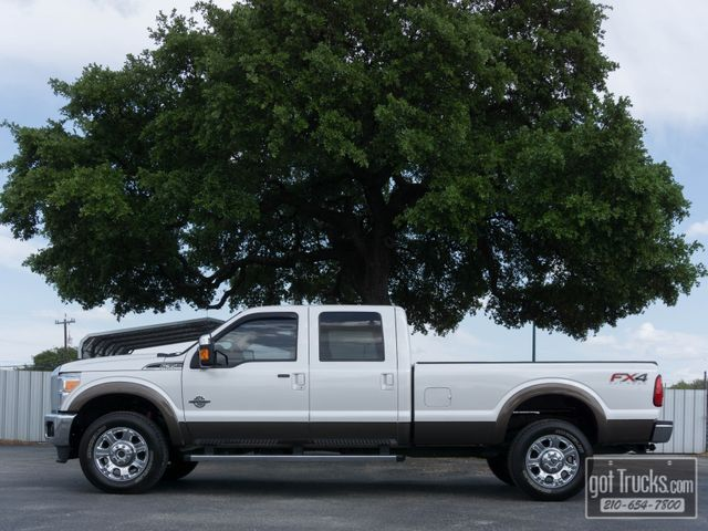 2015 Ford Super Duty F350 Crew Cab Lariat FX4 6.7L Power Stroke Diesel 4X4