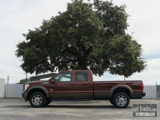 2015 Ford Super Duty F350 Crew Cab King Ranch FX4 6.7L Power Stroke 4X4
