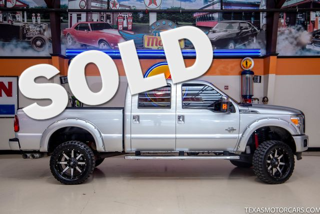 2015 Ford Super Duty SRW F-250 Pickup Platinum 4x4