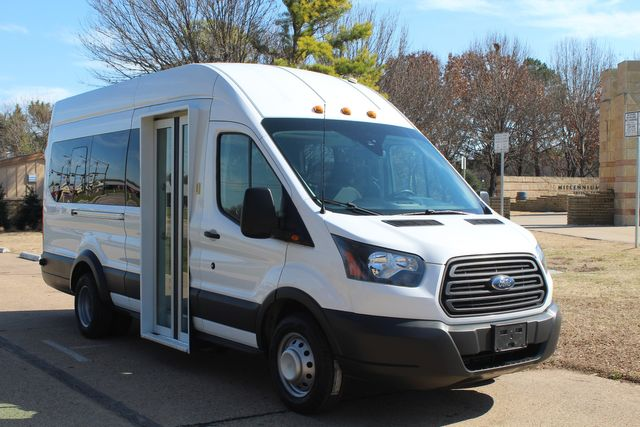 2015 Ford T350 High Roof 13 Passenger Extended Transit Wagon Irving, Texas 1