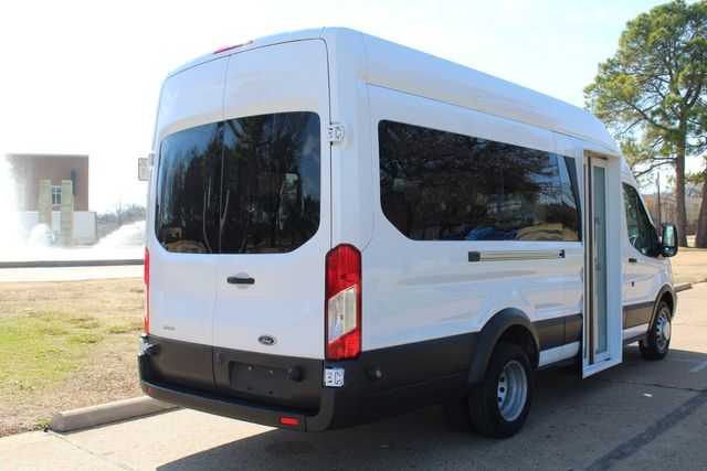 2015 Ford T350 High Roof 13 Passenger Extended Transit Wagon Irving, Texas 10