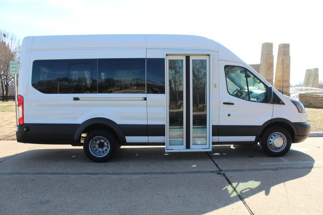 2015 Ford T350 High Roof 13 Passenger Extended Transit Wagon Irving, Texas 11