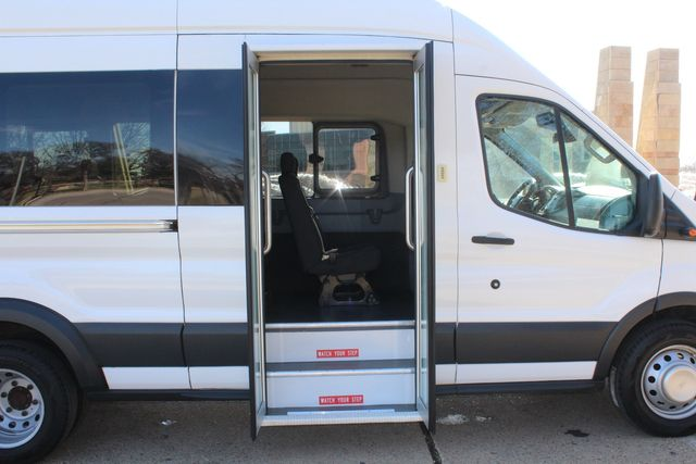2015 Ford T350 High Roof 13 Passenger Extended Transit Wagon Irving, Texas 12