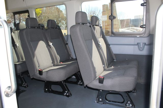 2015 Ford T350 High Roof 13 Passenger Extended Transit Wagon Irving, Texas 16