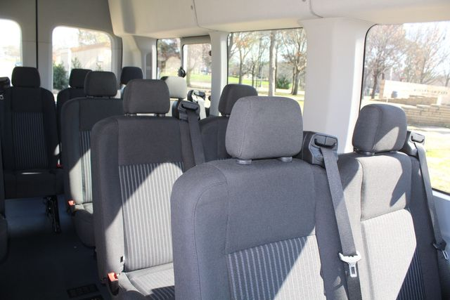 2015 Ford T350 High Roof 13 Passenger Extended Transit Wagon Irving, Texas 17