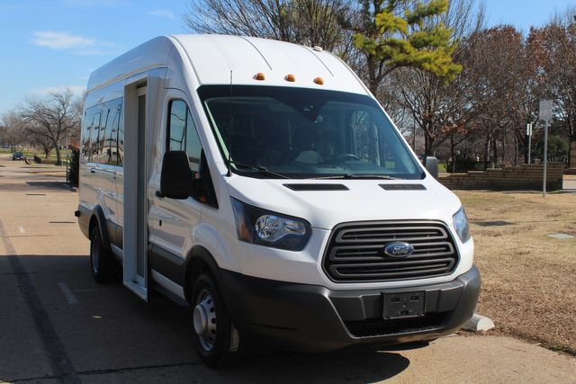 2015 Ford T350 High Roof 13 Passenger Extended Transit Wagon Irving, Texas 2
